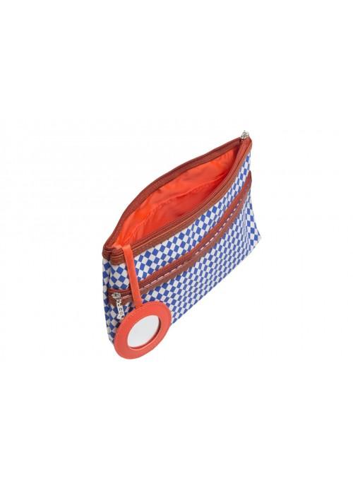 Kosmetyczka Marina czerwona 7552 33x21x24 cm
